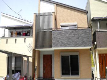 大阪市 OB号地 新築施工事例